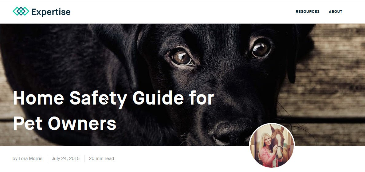 http://www.expertise.com/home-and-garden/pet-safety-guide